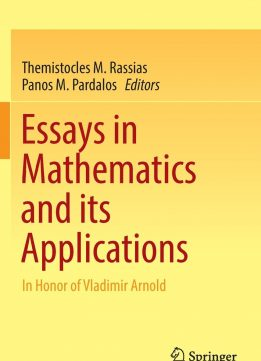 Download ebook Essays in Mathematics & its Applications: In Honor of Vladimir Arnold