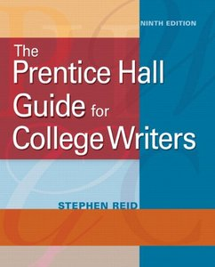 Download ebook Guide for College Writers (9th Edition)