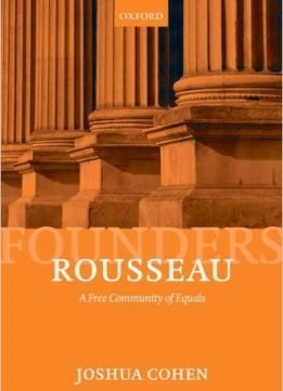 Download ebook Rousseau: A Free Community of Equals