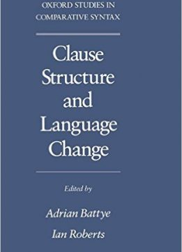 Download ebook Clause Structure & Language Change