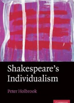 Download ebook Shakespeare's Individualism
