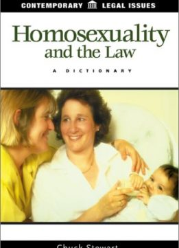 Download ebook Homosexuality & the Law: A Dictionary