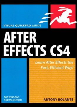Download ebook After Effects CS4 for Windows & Macintosh: Visual QuickPro Guide