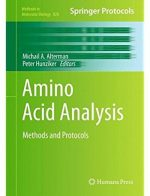 Amino Acid Analysis: Methods and Protocols