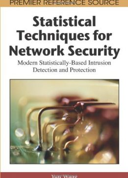 Download ebook Statistical Techniques for Network Security