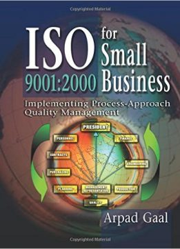 Download ebook Iso 9001: 2000 for Small Business