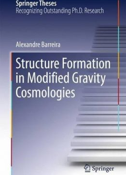 Download ebook Structure Formation in Modified Gravity Cosmologies