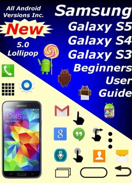 Download Samsung Galaxy S5, S4, & S3 Beginners User Guide