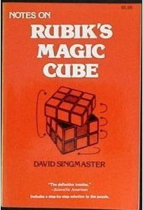 Download ebook Notes on Rubik's 'Magic Cube'