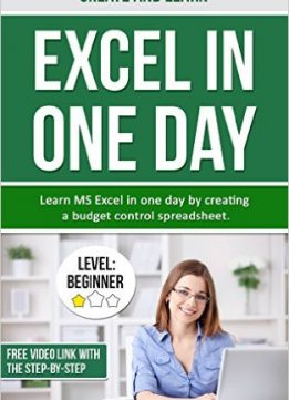Download ebook Create & Learn Excel in One Day