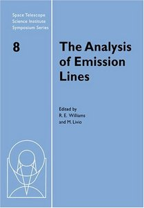 Download ebook The Analysis of Emission Lines