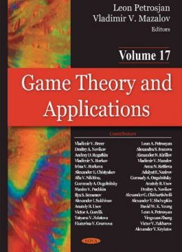 Download ebook Game Theory & Applications: Game-theoretic Models in Mathematical Ecology