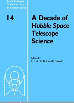 Download ebook A Decade of Hubble Space Telescope Science