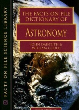 Download ebook The Facts on File Dictionary of Astronomy (5th edition)