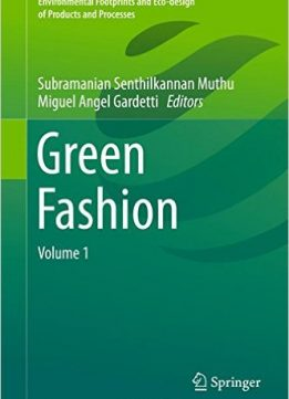 Download ebook Green Fashion: Volume 1