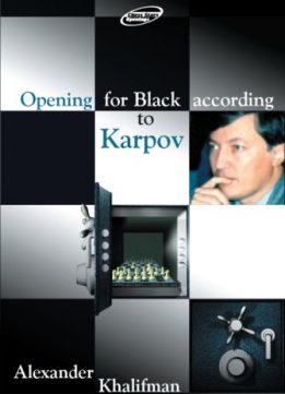 Download ebook Opening for Black According to Karpov