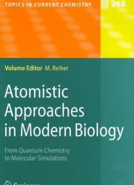 Download ebook Atomistic Approaches in Modern Biology