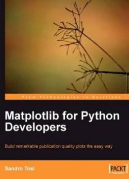 Download ebook Matplotlib for Python Developers