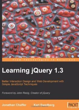 Download ebook Learning jQuery 1.3