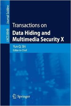 Download Transactions on Data Hiding & Multimedia Security X