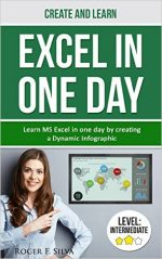 Create and Learn Excel in One day: Learn Ms Excel in one day by creating a Dynamic Infographic