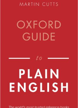Download ebook Oxford Guide to Plain English, 4th Edition