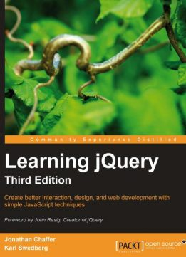 Download ebook Learning jQuery
