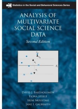 Download ebook Analysis of Multivariate Social Science Data, Second Edition