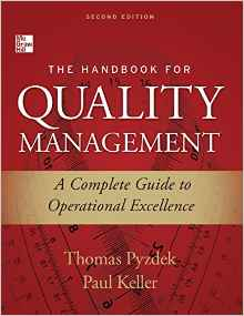Download ebook The Handbook for Quality Management (2nd Edition)