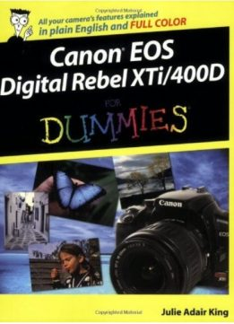 Download Canon EOS Digital Rebel XTi/400D For Dummies