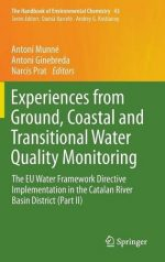 Experiences from Ground, Coastal and Transitional Water Quality Monitoring