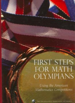 Download ebook First Steps for Math Olympians: Using the American Mathematics Competitions