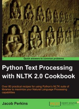 Download ebook Python Text Processing with NLTK 2.0 Cookbook