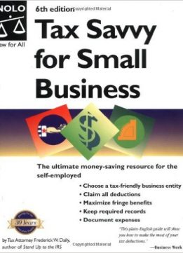 Download ebook Tax Savvy for Small Business, Sixth Edition