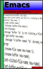 Emacs: Questions and Answers