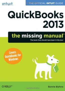 Download ebook QuickBooks 2013: The Missing Manual