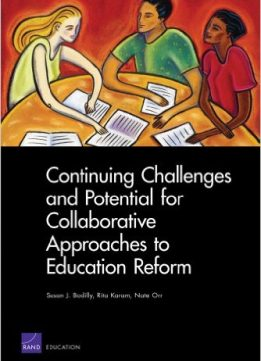 Download ebook Continuing Challenges & Potential for Collaborative Approaches to Education Reform