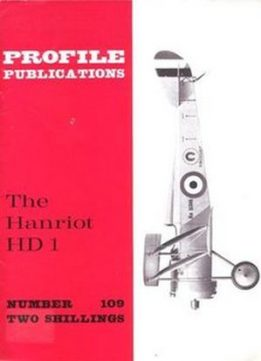 Download The Hanriot HD 1 (Aircraft Profile Number 109)