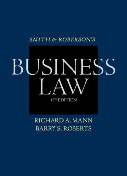 Download ebook Smith & Roberson's Business Law, 15 edition