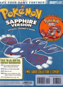 Download Pokemon Sapphire & Ruby (Official Trainer's Guide)