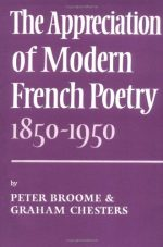 Appreciation Modern French Poetry (1850-1950)