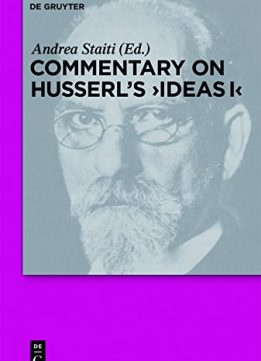 Download ebook Commentary on Husserl's Ideas I