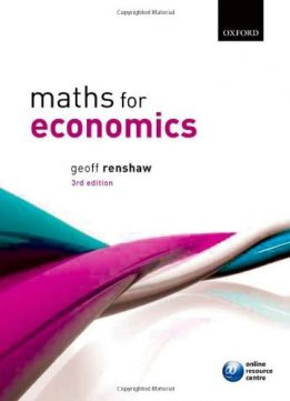 Download ebook Maths for Economics
