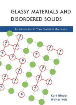 Download ebook Glassy Materials & Disordered Solids