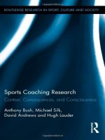 Sports Coaching Research: Context, Consequences, and Consciousness