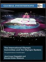 The International Olympic Committee and the Olympic System: The Governance of World Sport