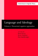 Language and Ideology: Volume 1: theoretical cognitive approaches