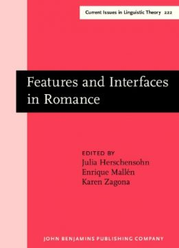 Download Features & Interfaces in Romance