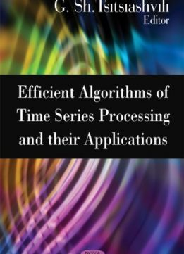 Download ebook Efficient Algorithms of Time Series Processing & Their Applications
