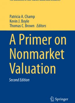 Download ebook A Primer on Nonmarket Valuation, 2nd Edition